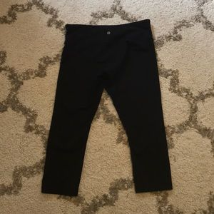 Lululemon Black Ankle Leggings
